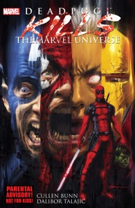 Deadpool Kills The Marvel Universe Book Cover