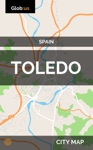Toledo Spain - City Map