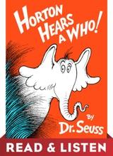 Horton Hears A Who! Read & Listen Edition