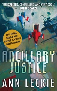 Ancillary Justice Book Cover