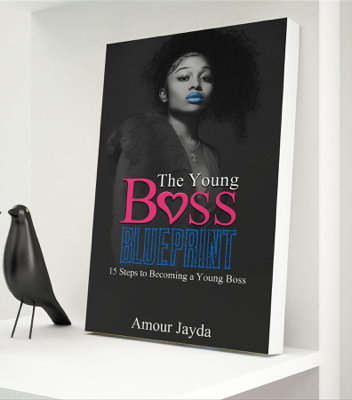 The Young Boss Blueprint - Jayda Cheaves book