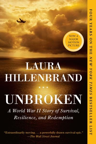 Unbroken - Laura Hillenbrand book cover