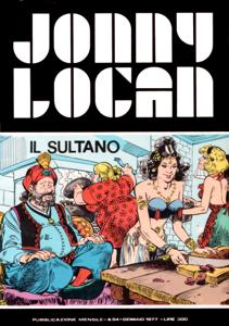 Jonny Logan - Il sultano Copertina del libro