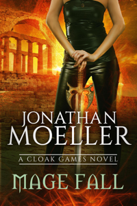 Cloak Games: Mage Fall La couverture du livre martien