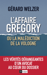 L'affaire Gregory, ou la malédiction de la Vologne La couverture du livre martien