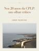 Jorge Tolentino - Nos 20 anos da CPLP: um olhar crítico grafismos