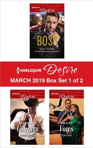 Katy Evans, Silver James & Zuri Day - Harlequin Desire March 2019 - Box Set 1 of 2