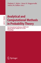Analytical And Computational Methods In Probability Theory