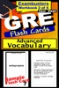 GRE Test Prep Advanced Vocabulary 2 Review--Exambusters Flash Cards--Workbook 2 Of 6