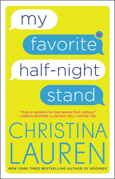 My Favorite Half-Night Stand - Christina Lauren book cover