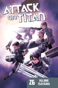 Attack on Titan Volume 26 Book Cover
