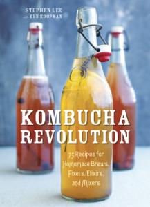 Kombucha Revolution Libro Cover