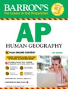 Barrons AP Human Geography With Online Tests