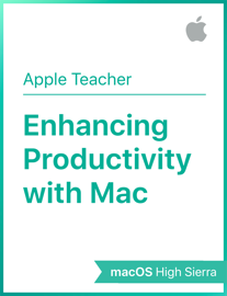 Enhancing Productivity with Mac macOS High Sierra book