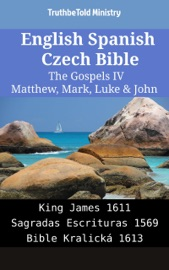 English Spanish Czech Bible The Gospels Iv Matthew Mark Luke John
