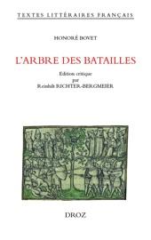 LARBRE DES BATAILLES