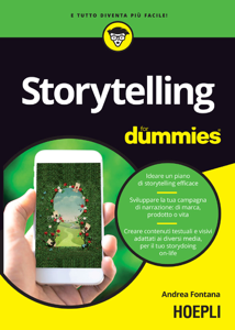 Storytelling for dummies Libro Cover