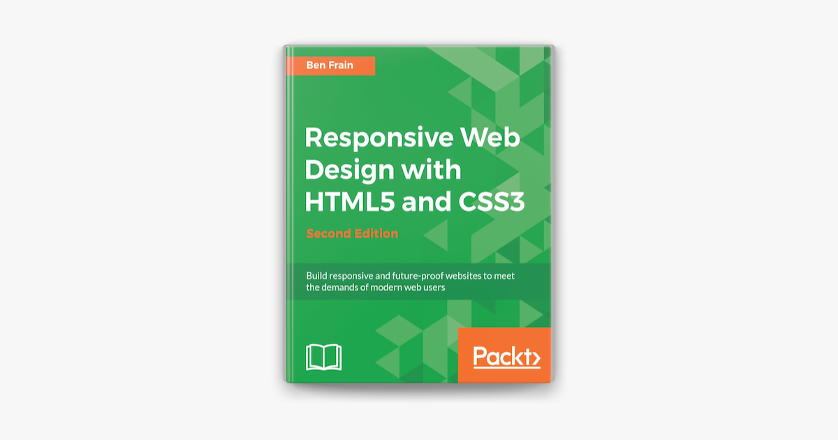 Responsive Web Design With Html5 And Css3 Second Edition On Apple Books