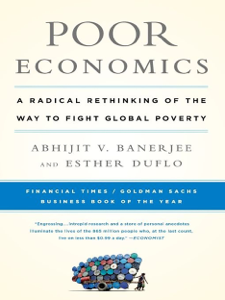Poor Economics Libro Cover