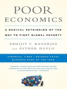 Poor Economics Cover Book