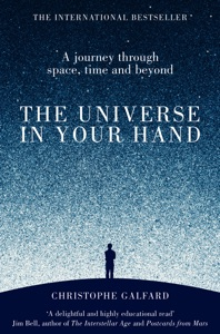 The Universe in Your Hand Book Cover
