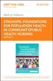 Foundations for Population Health in Community/Public Health Nursing