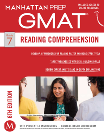 GMAT Reading Comprehension book