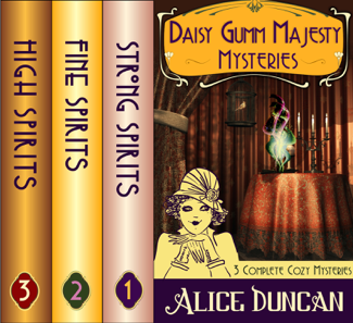 The Daisy Gumm Majesty Boxset (Three Complete Cozy Mystery Novels in One) - Alice Duncan