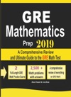GRE Math Prep 2019 A Comprehensive Review And Ultimate Guide To The GRE Math Test