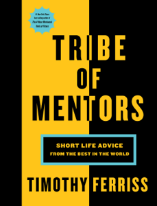 Tribe of Mentors Buch-Cover