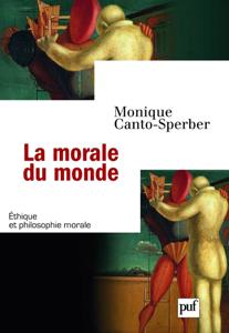 La morale du monde La couverture du livre martien