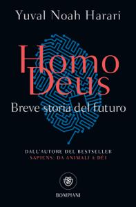 Homo Deus Copertina del libro