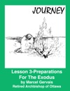 Journey-Lesson 3 Preparations For The Exodus