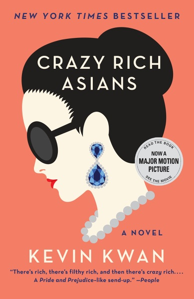 Crazy Rich Asians - Kevin Kwan book cover