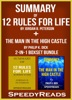 Summary of 12 Rules for Life: An Antidote to Chaos by Jordan B. Peterson + Summary of The Man in the High Castle by Philip K. Dick