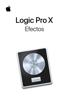 Apple Inc. - Efectos de Logic Pro X ilustraciГіn