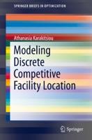 Modeling Discrete Competitive Facility Location
