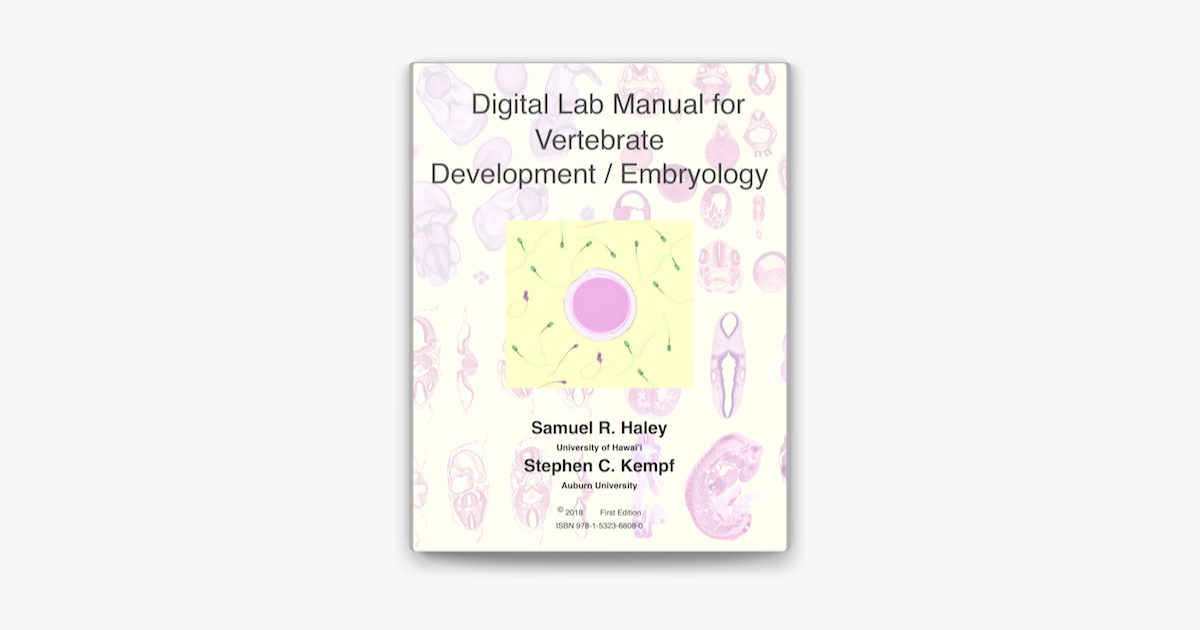 U200edigital Lab Manual For Vertebrate Development