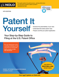 Patent It Yourself book
