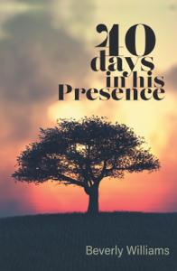 40 Days in His Presence Copertina del libro