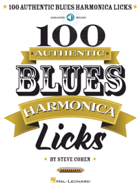 100 Authentic Blues Harmonica Licks