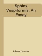 Download Sphinx Vespiformis: An Essay