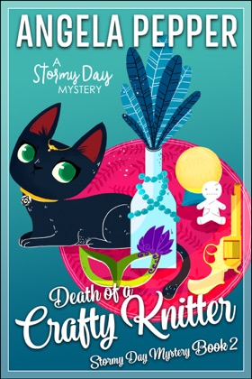 Death of a Crafty Knitter book cover