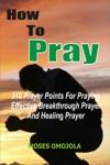 How To Pray 310 Prayer Points For Praying Effective Breakthrough Prayer And Healing Prayer
