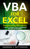 VBA for Excel: Programming VBA Macros - The Easy Introduction for Beginners and Non-Programmers Book Cover