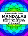 PuzzleBooks Press Mandalas - Volume 3