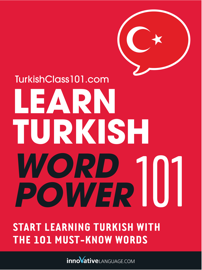 Learn Turkish - Word Power 101 book