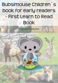 Bubsimouse Children's book for early readers - First Learn to Read Book
