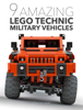 LForces - 9 Amazing Lego Technic Military Vehicles  artwork