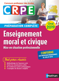 Enseignement moral et civique - Oral 2019 - Préparation complète - CRPE